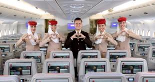 tripulantes de cabina Emirates