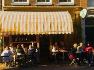 El  Café de Klepel en Ámsterdam.