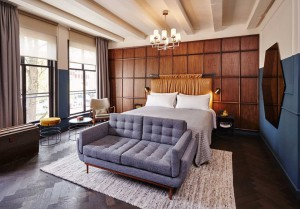 Hotel Hoxton de Ámsterdam.