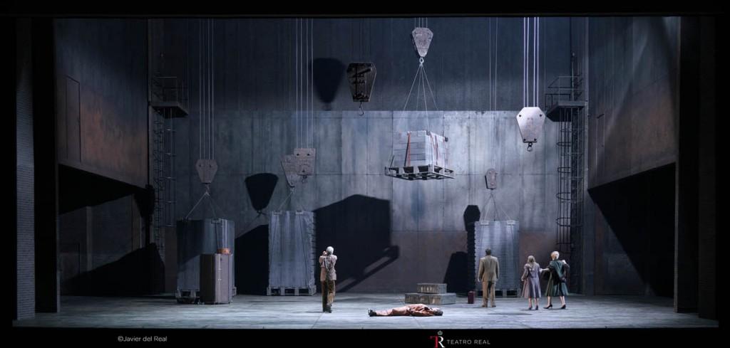 ópera Rheingold Teatro Real