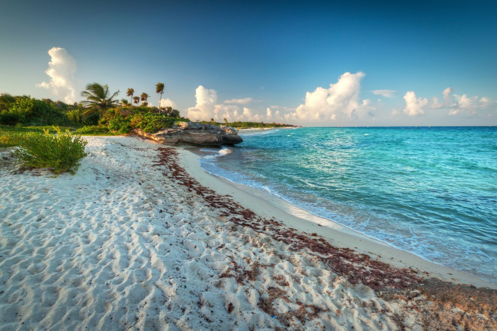 El Caribe Mexicano.