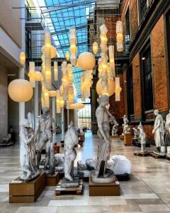 La Galería Nacional de Dinamarca en Copenhague.