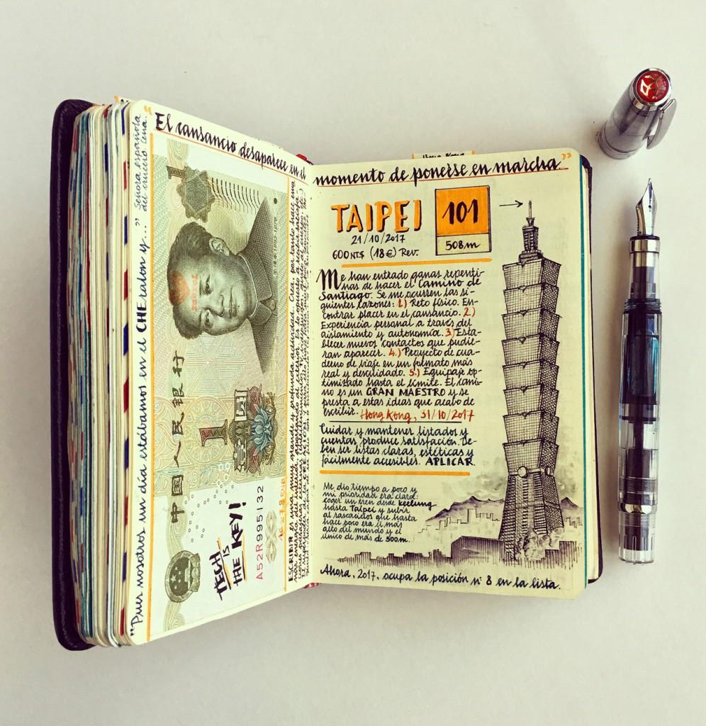 """A José Naranja le fascinan el """"Codex Seraphinianus"""" de Luigi Serafini y los bocetos y cuadernos de dibujos de Leonardo da Vinci."""