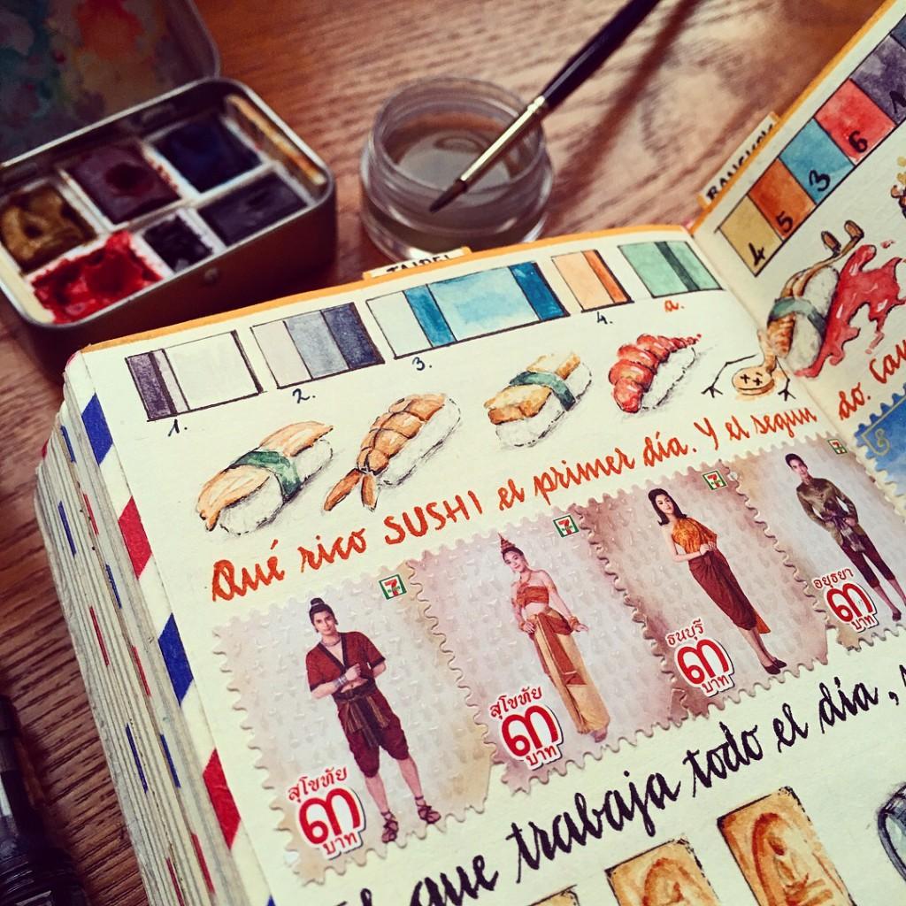 Cuadernos de viaje de José Naranja