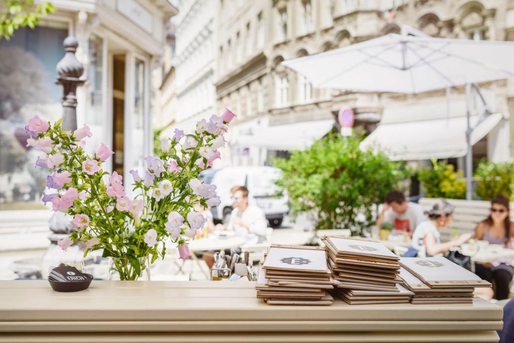 """En Viena, vistas desde el Cafè Erich. """"Es siempre el primer sitio que se me viene a la cabeza cuando mis amigos me proponen de ir a tomar el brunch"""", indica Kaja del blog de moda The Cosmopolitas."""