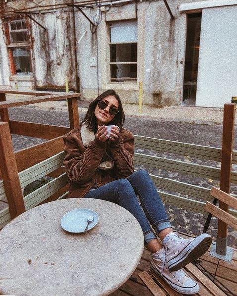 La instagrammer portuguesa Rita.