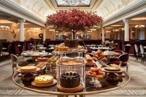 La sala de té del londinense Harrods.