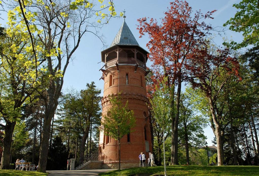 Türkenschanzpark tiene más de 100 años.