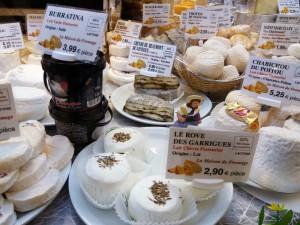 Les Halles es el bazar gastronómico por excelencia de productos locales en Aviñón.