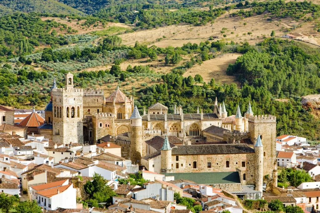 Real Monasterio de Santa María de Guadalupe, Patrimonio de la Humanidad por la Unesco.