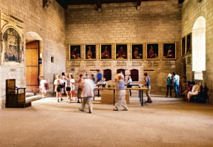 En el Palacio de Aviñón se celebraron siete cónclaves.