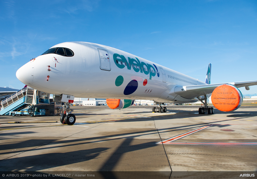 A350-900-Evelop-Airlines