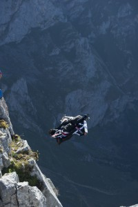Armando en pleno salto, momentos críticos. Foto: @Darío Rodríguez - DESNIVEL.