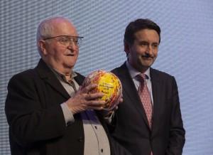 Arzak con Josu Jon Imaz, Presidente de Repsol.