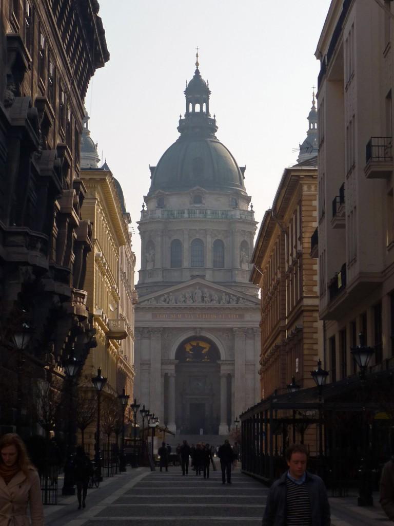 Basílica de san Esteban en Budapest.