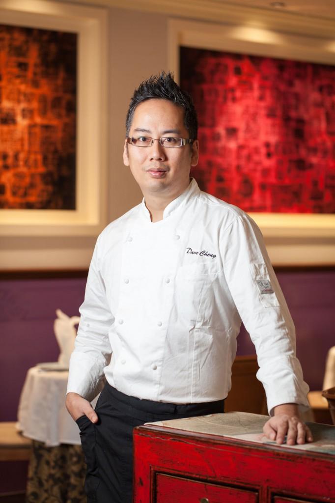 Dave Cheng, chef del restaurante.