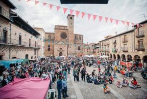 La fiesta de entrega del premio en Sigüenza. Foto: Salva Valverde.