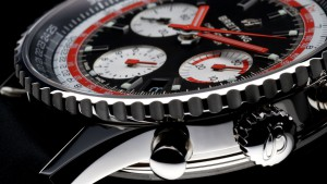 Calibre 01 de Breitling. El movimiento mecánico de cronógrafo ofrece una reserva de marcha cercana a las 70 horas.