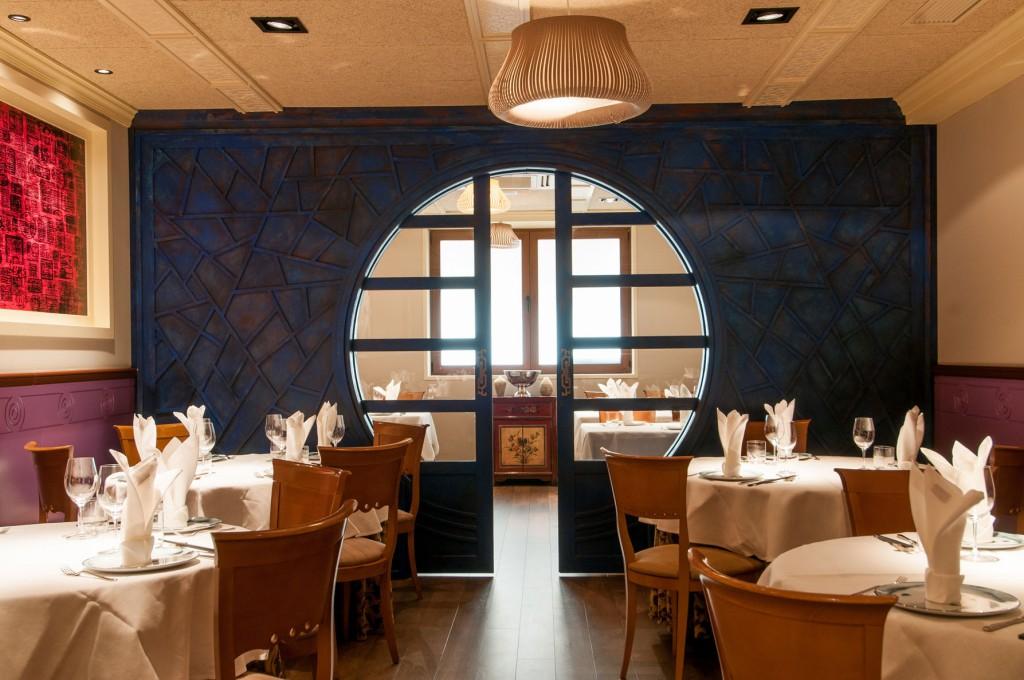En Hong Kong, como en España, la comida es el hilo conductor de las relaciones humanas. En la foto: comedor de The One.