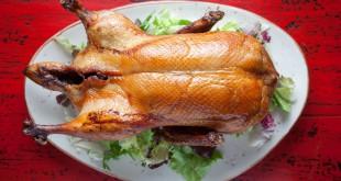 El pato laqueado, el plato estrella de la cocina china, aquí es pato lacado THE ONE.