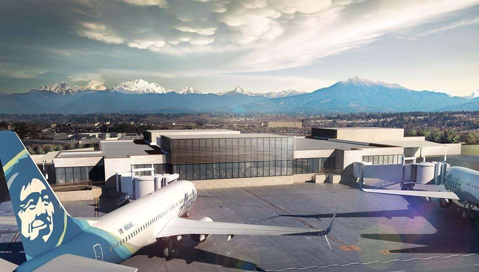Alaska Airlines operará 18 vuelos diarios a 8 ciudades de la Costa Oeste. Y United Airlines comenzará a volar 6 vuelos diarios a Dénver y San Francisco.