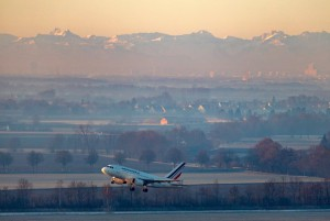 Despegue en el Aeropuerto de Múnich.