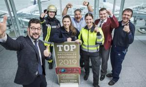 """MUC también ha obtenido el galardón de """"Mejor empleador nacional 2019"""" en Alemania."""