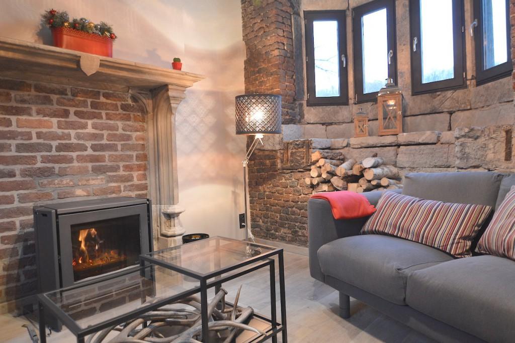 Una vez reformada y actualizada, la pequeña conserjería del castillo ahora es una coqueta casa que poder alquilar por unos días.