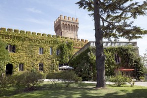 Castello Leopoldo en la Toscana, Italia.