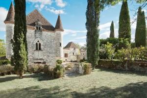 Château Martinus en la región de Aquitania, Francia.
