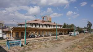 Estación de ferrocarril de la capital etíope. Foto: A.Savin.