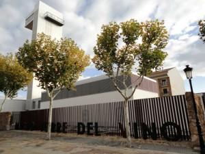 Fachada del Museo Torre del Vino.