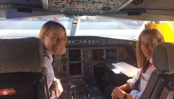 mujeres tripulacion Iberia