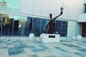 Patio del museo.