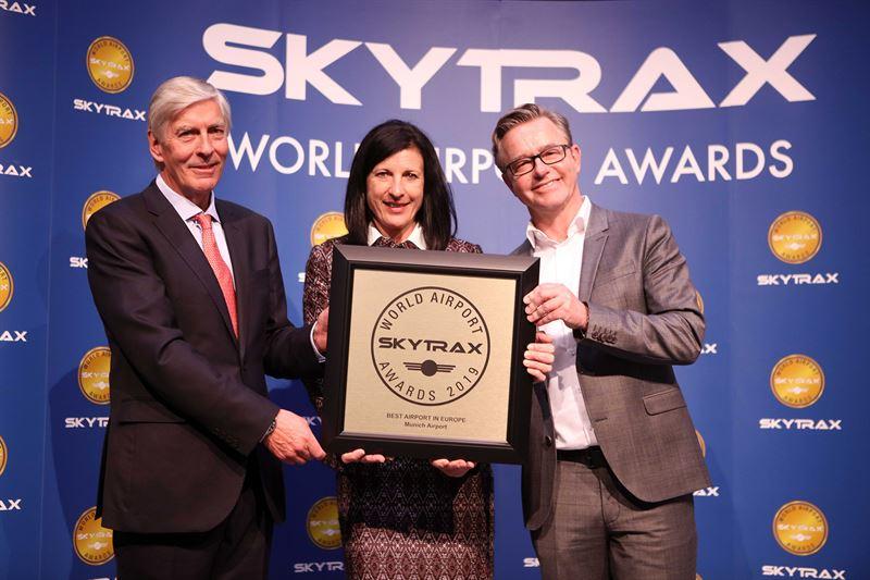 En la clasificación europea de los World Airport Awards, el hub bávaro vuelve a ganar.