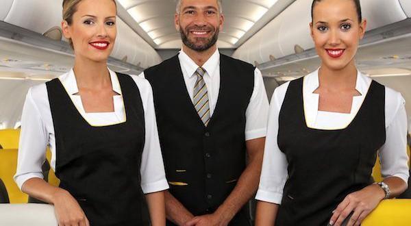 nuevos tripulantes de cabina Vueling