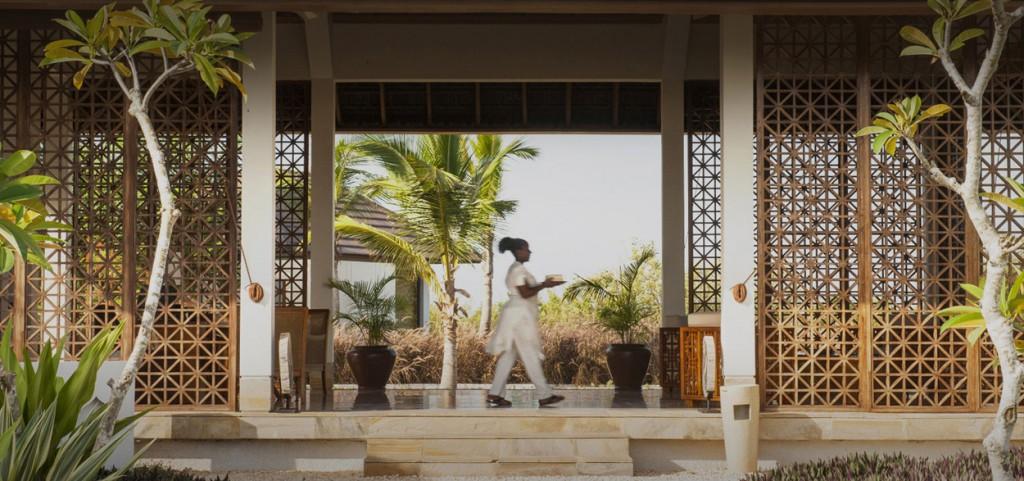 El Spa se encuentra enclavado entre dos hectáreas de jardines tropicales.
