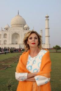 Ágatha Ruiz de la Prada en la India.