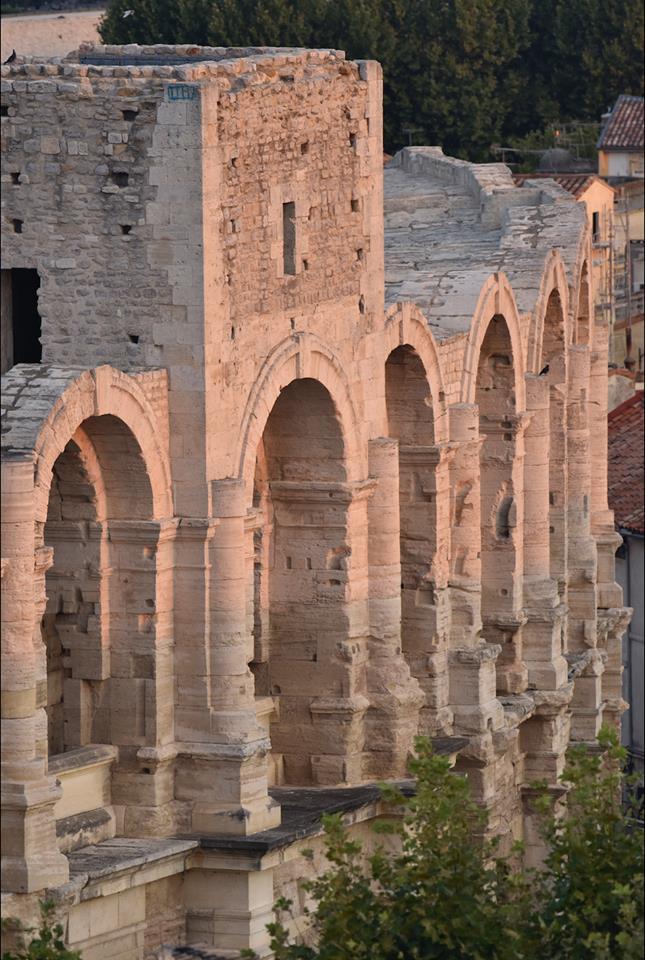 Anfiteatro romano Arlés.