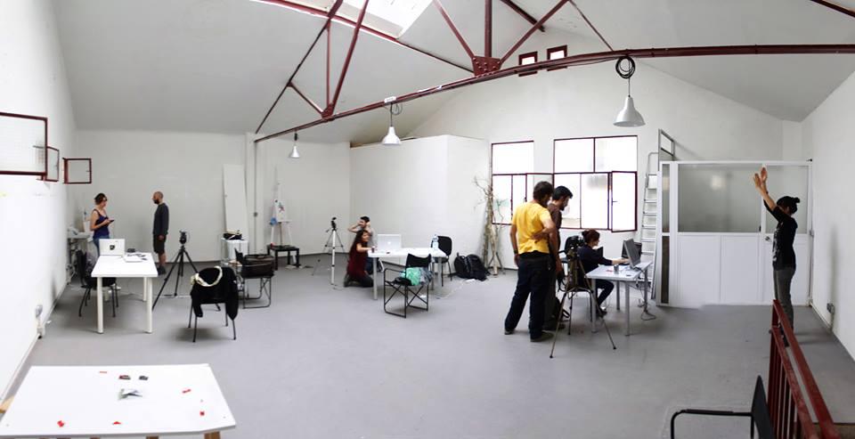 Espacio Oculto Madrid organiza talleres de arte urbano además de debates y acciones de muy diversos temas.