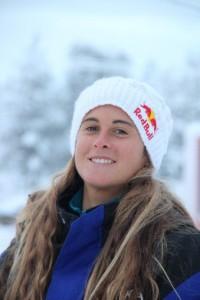 Gisela Pulido en Laponia.
