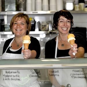 Tomar un helado en Bi-Rite Creamery.