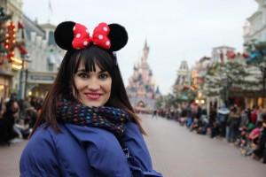 Irene Villa en Disneyland París.