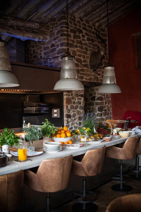 La cocina de La Donaira.