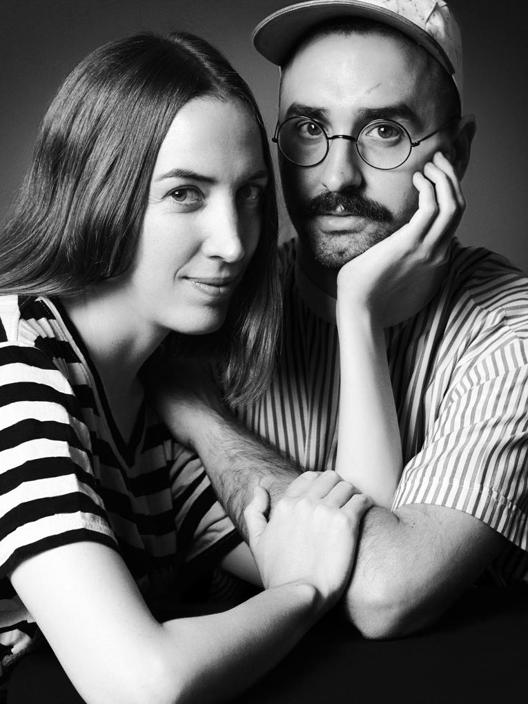 Marina Casal y Andrés Gallardo. Emprendedores y autodidactas en joyería. Foto: José Luis Tabueña