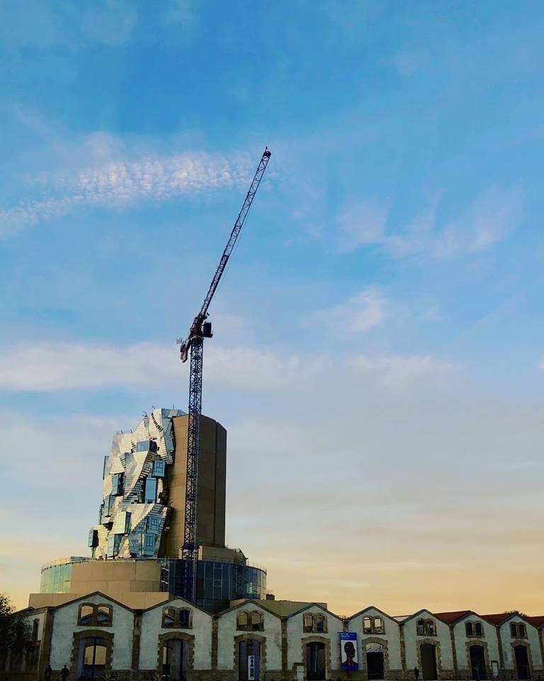 La inauguración de la torre de Frank Gehry está prevista para 2020. Foto: Mario Timbal