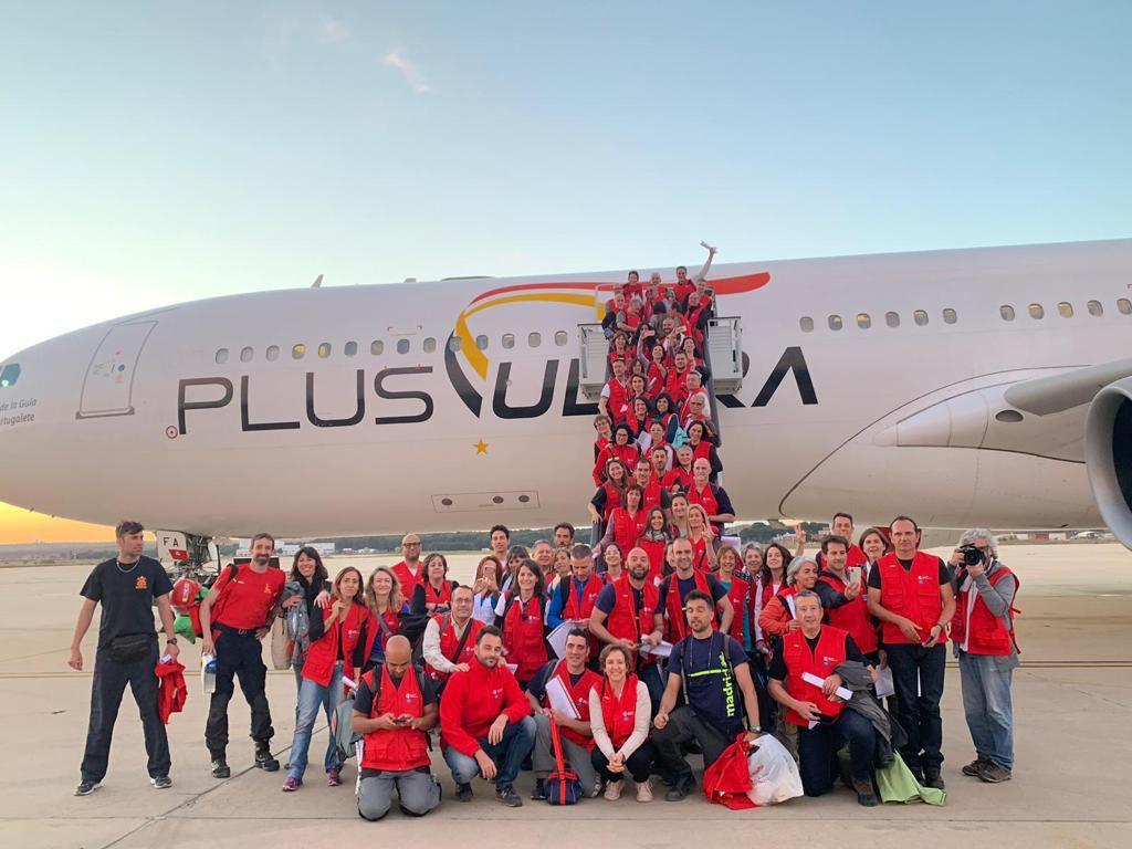Plus Ultra Líneas Aéreas_ayuda humanitaria