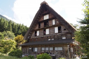 Algunas de las casas en pie son del siglo XIX.