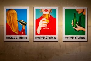 Arte Emergente Cervezas Alambra en La Tabacalera.