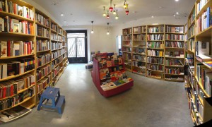 El espacio de librería de Traficantes de Sueños.